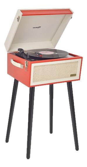Vitrola Retro Vintage Bivolt Fm Bluetooth Usb Sistema Hi-fi