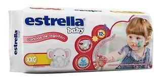 Estrella Baby Hiperpack Talle Xxg X 34 Pañales Mas De 14 Kg