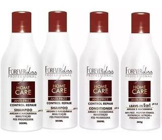 Kit 2 Shampoos, 1 Condicionador E 1 Leave-in Home Care