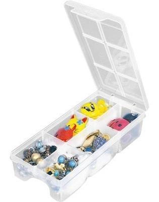 Caixa Organizadora Porta Joias Agulhas Miçangas Botões