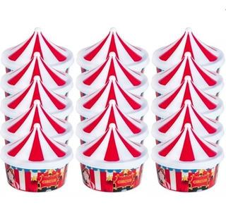 Kit Com 20 Unidade Porta Mix Circo Plasútil