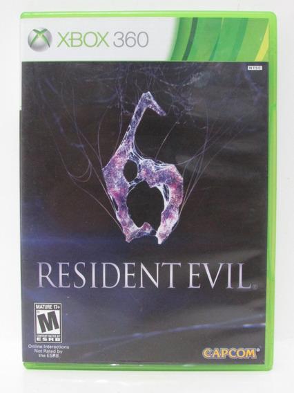 Resident Evil 6 - Xbox 360 Original Mídia Física Americano