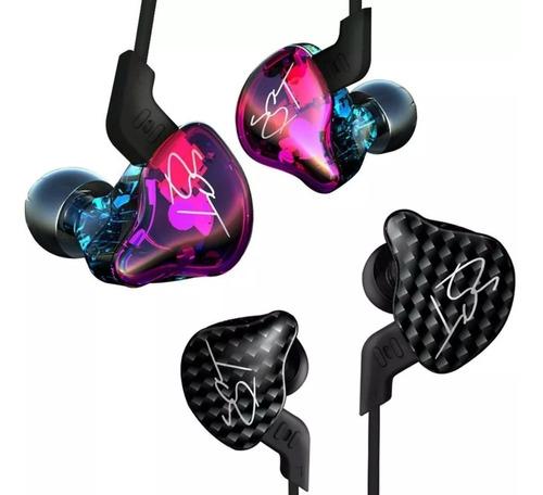 Imagen 1 de 6 de Auriculares In Ear Kz Zst Pro 2 Vias Monitor Sin Micrófono - Representante Oficial Kz