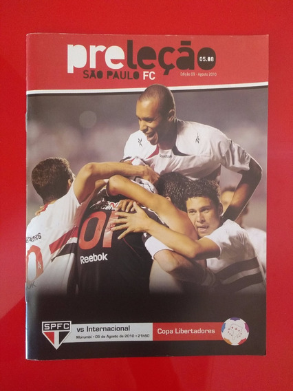 Revista Do São Paulo Preleção Oficial (806)