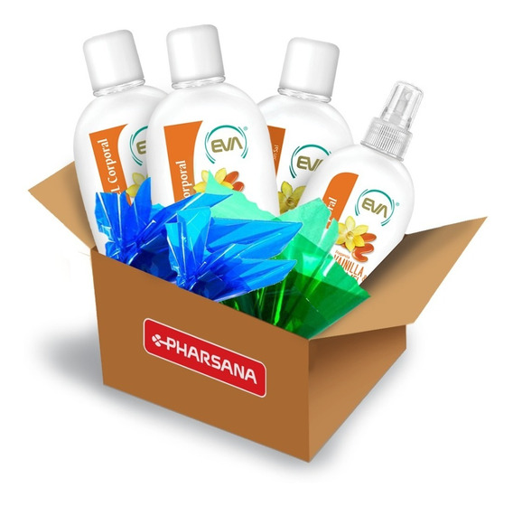 Ecobox Eva Vainilla & Caramel Cuidado Personal 10 Productos