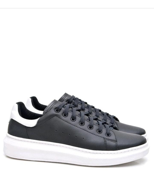 Tênis Sneaker Masculino Preto