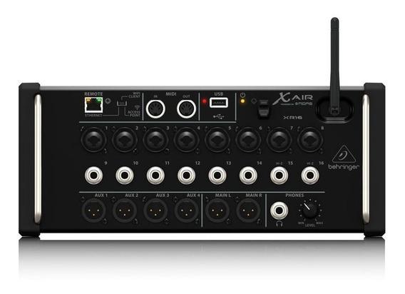Mixer Digital Behringer X-air Xr16 16 Entradas 6 Saídas