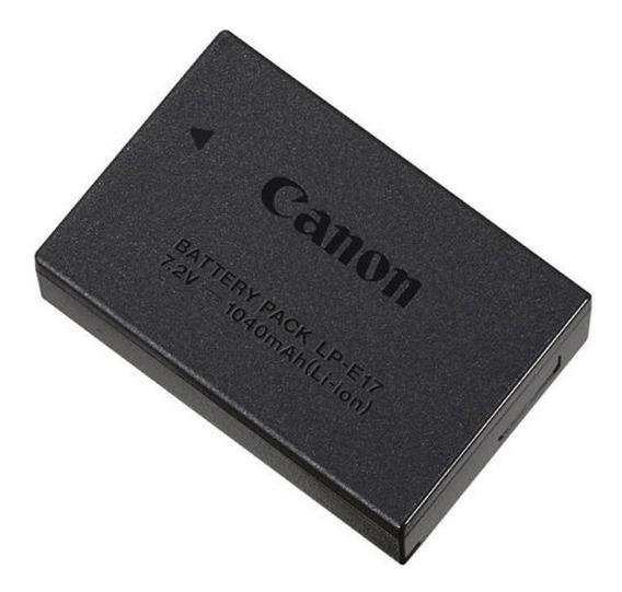 Bateria Lp-e17 Para Câmeras Canon Original + Carregador