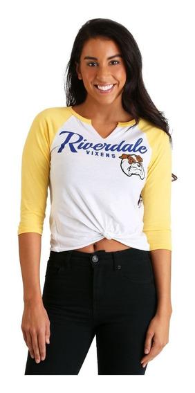 Playera Blusa Riverdale Vixens Raglan Tee
