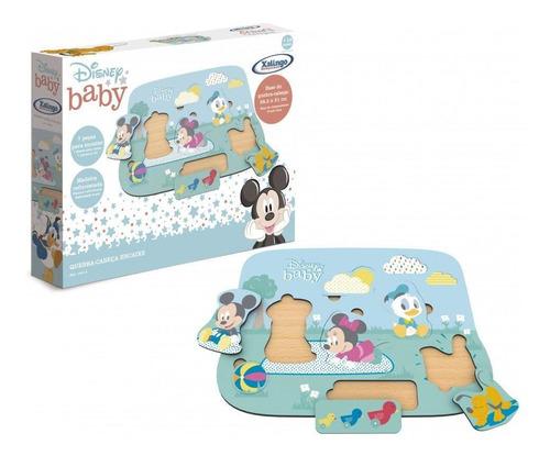 Imagem 1 de 1 de Quebra-cabeça Encaixe Disney Baby - Xalingo