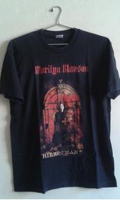 Camiseta Rock Tour Marilyn Manson Original Importada