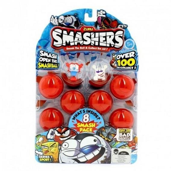 Smashers Pack 8 Figuras