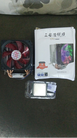 Xeon E5 2640 + Air Cooler Led Lga2011