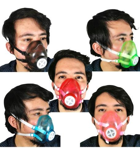 Cubreboca Filtro Carbon Activado Mayoreo 10 Pzs Colores