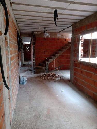 Cobertura Com 2 Dormitórios À Venda, 102 M² Por R$ 420.000,00 - Vila Alto De Santo André - Santo André/sp - Co4767