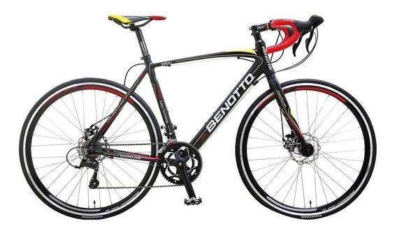 Bicicleta Benotto 1550 Ruta Alum R700c 18v.shimano Negra