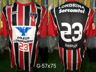 Camisa São Paulo Reebok Futsal Reserva 2012 #23