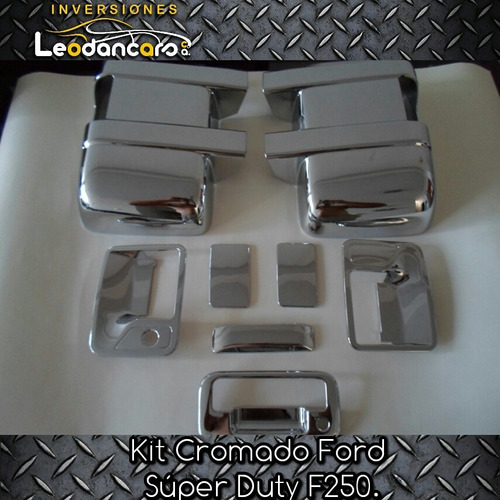Kit Cromado Super Duty 2 Puertas F-250 4x4. Importado