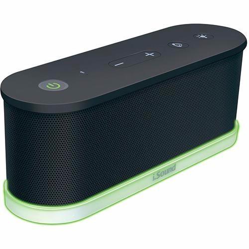 Caixa De Som Isound Iglowsound Waves Bluetooth - Preto