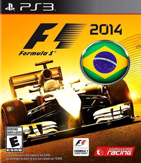 F1 Formula 1 2014 Ps3 Psn Português