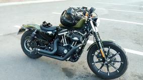 Harley Davidson Iron 883 Olive Gold 2016 Muchos Accesorios