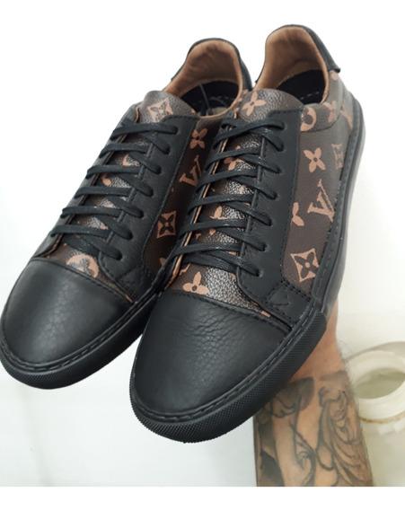 Tênis Sapatênis Louis Vuitton Shoes +brinde