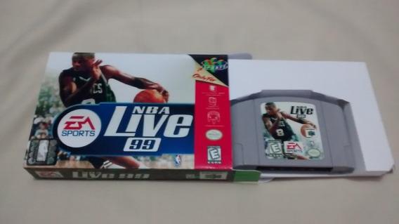 Nba Live 99 Original Nintendo 64