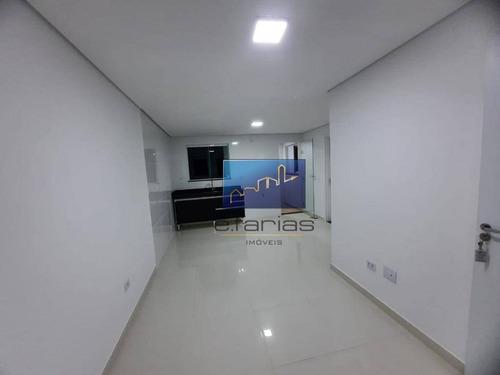 Studio Com 2 Dormitórios Para Alugar, 47 M² Por R$ 1.450,00/mês - Vila Nova Savoia - São Paulo/sp - St0460