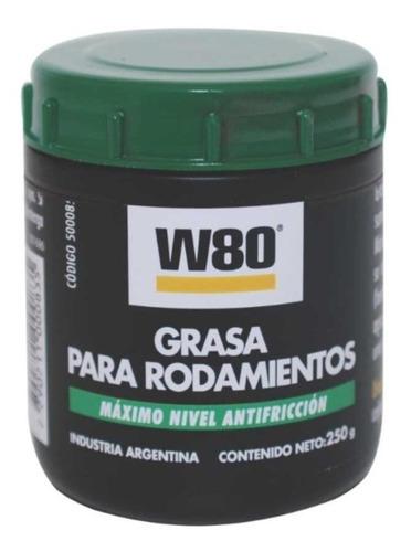 Grasa Para Rodamientos W80  100g Máximo Nivel Antifricción