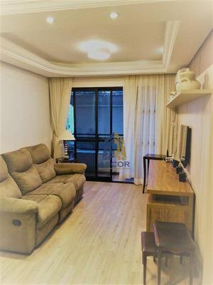 Apartamento Mobiliado Com 2 Dormitórios, 1 Vaga De Garagem Para Alugar Por R$ 2.700/mês - Agronômica - Florianópolis/sc - Ap2454