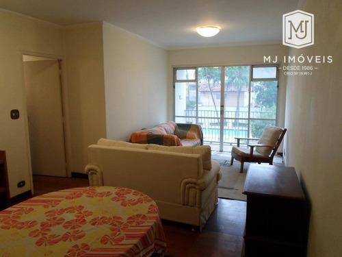 Apartamento Com 3 Dormitórios À Venda, 112 M² Por R$ 880.000,00 - Brooklin Paulista - São Paulo/sp - Ap0167