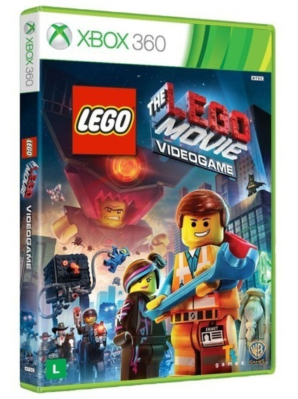 Lego Movie Videogame Xbox 360 Midia Fisica - Original