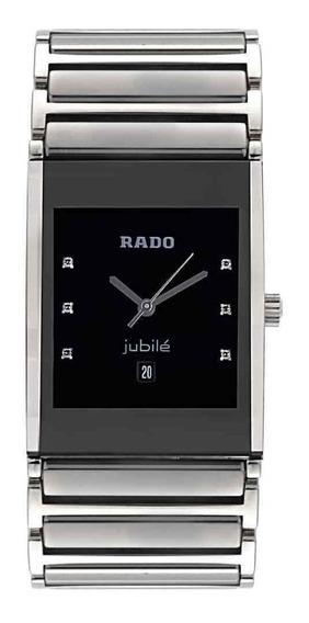 Reloj Rado Diastar Integral Cuarzo Color Plata Diamantes