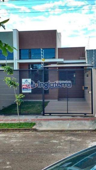Casa Com 3 Dormitórios Para Alugar, 87 M² Por R$ 1.350,00/mês - Parque Residencial Joaquim Toledo Piza - Londrina/pr - Ca1597