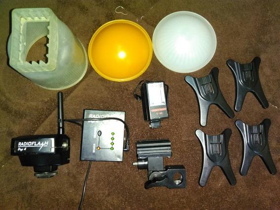 Acessórios Flash Iluminação Fotografia Canon Nikon