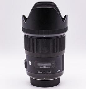 Sigma Ef Art 35mm F/1.4 Para Nikon