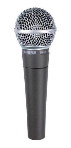 Imagen 1 de 3 de Micrófono Para Voces Shure Sm58 Lc