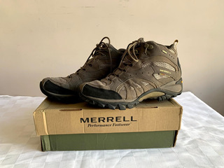 Botas Trekking Mujer Merrell C/sin Uso Nº39 Us 9.5 Uk 7 26cm