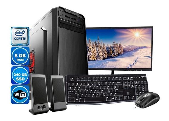 Computador Pc Completo I5 3° Geração 8gb Ssd 240gb Wi-fi