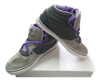Zapatillas Airwalk Bota Marvel Lila Gris Liquidación !