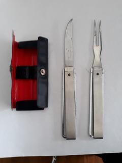 Equipo De Cuchillo Y Tenedor Para Camping