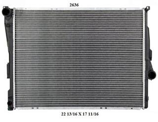 Radiador Bmw Z4 2004 2.5l Deyac T. Externa 26 Mm