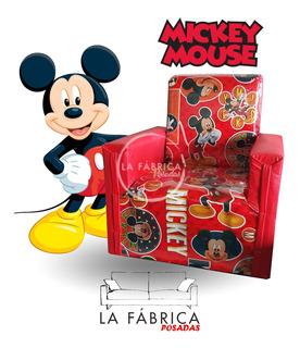 Sillon Infantil Mickey Minnie Spiderman Cars Y Más Modelos