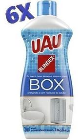 Limpa Box Uau 200ml Aprovado Pela Blindex - Com 6 Unidades