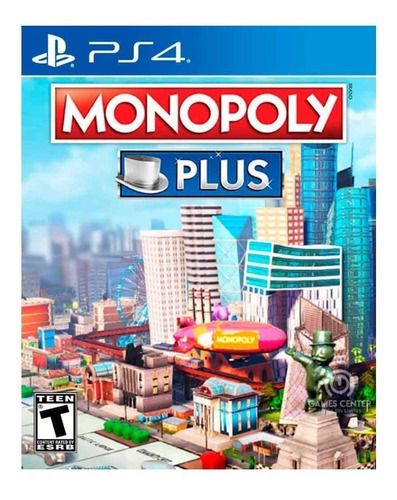 Monopoly Plus Ps4 Desde Tu Usuario - Entrega Inmediata!