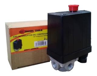 Presostato Interruptor Para Compresor De Aire 2 Hp 120 V Max