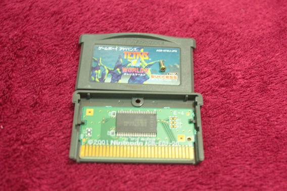 Jogo Teris Worlds Original Para Game Boy Advance Gba