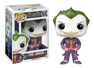 Funko Pop! Dc Batman Arkham - The Joker 53 Guasón Original
