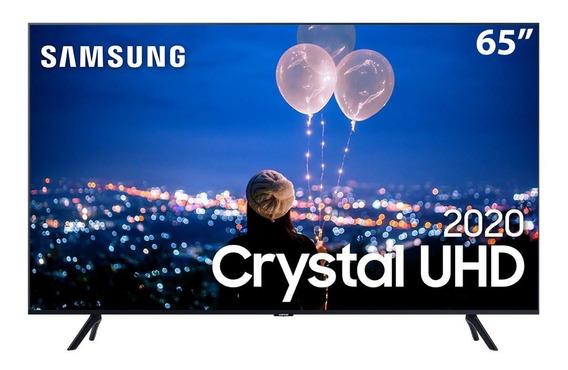 Smart Tv Led 65 Uhd 4k Samsung 65tu8000 Crystal Uhd Com Nfe