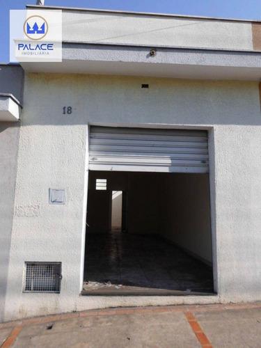 Salão Para Alugar, 36 M² Por R$ 900/mês - Paulista - Piracicaba/sp - Sl0176